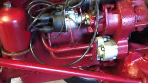 farmall super a brand new hydraulic pump youtube