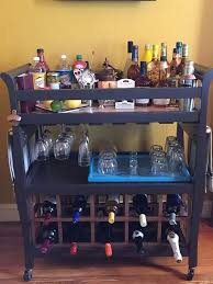 Do I Need A Changing Table These Diy Bar Carts Are So You Ll Want To Make One Right Away