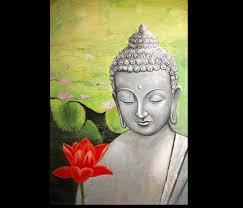 buddha art modern wall decor buddha painting abstract canvas prints