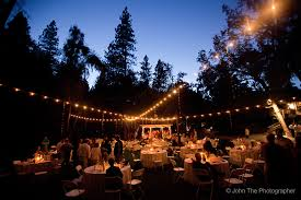 Wedding Venues Modesto Ca Pretty Lights At Dusk Fausel Ranch Placerville Ca Photos Of