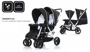 abc design tandem abc design tandem plus doppelter komfort doppelter spaß baby