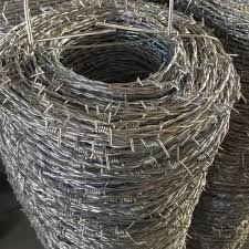 dipped galvanized barbed wire price per roll barbed wire fence