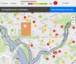 Dc Neighborhood Map Gentrification Educational Redlining And The Urban Neighborhood