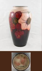 Moorcroft Clematis Vase Auctions