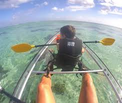 clear kayak clear kayaks in le morne picture of rent a sup riviere noire