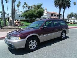 burgundy subaru legacy 1999 subaru legacy outback limited 30th anniversary awd 4dr wagon in