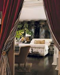 Curtains For Doorways Eye For Design Decorating With Portieres Drapes For Your