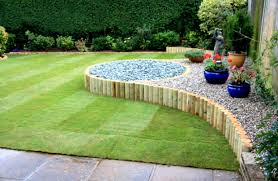 Home Backyard Designs Grande Green Plants With Stone Ing Also Beautified And Small