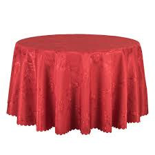 outdoor dining table cover 10pcs red gold white jacquard table cover round decor dining table