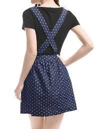 amazon com allegra k women u0027s dots pattern adjustable shoulder