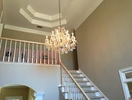 Foyer Chandelier Ideas What Is The Best Size For A Chandelier In A Two Story Average