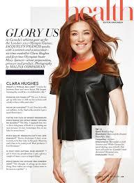 fashion magazine clara hughes
