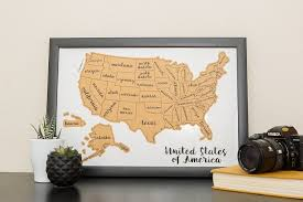 Map Snap Usa Amazon Com Jetsettermaps Scratch Your Travels United States Of
