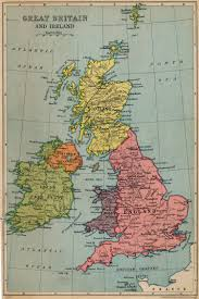 Britain Map Map 20of 20great 20britain 20and 20ireland 201933 The Freelance