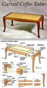 Woodworking Plans Coffee Table Legs by Round Pedestal Table Plans Furniture Plans And Projects