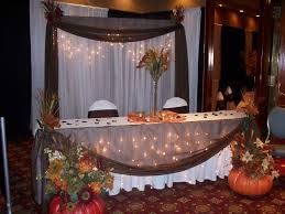 fall party table decoration ideas outdoor homemade party decoration