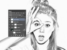 photoshop how to make a comic book cartoon from a photo very good