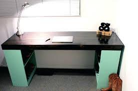 Office Desk Legs Diy Office Desk Desk With Bookshelf Legs Diy Office Desk Plans