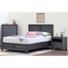 bedroom furniture with storage storage beds headboards bedroom furniture the home depot