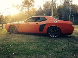 Dodge Challenger Orange - my hemi orange 09 u0027 dodge challenger r t lowered 1 6 in the back