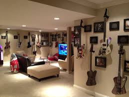 Room Games Decorating - modern ligting in cool gaming rooms interior design ideas at