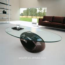 Modern Cheap Coffee Tables Round Shape Cheap Modern Lacquered Fiber Glass Coffee Table For 2