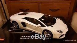 lamborghini aventador lp700 4 white 1 8 pocher lamborghini aventador lp700 4 white amazing built not