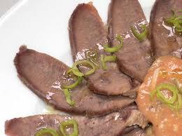 cuisine langue de boeuf ce qu une demi langue de bœuf peut faire deux façons coréennes