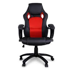 Red Leather Office Chair Red Leather Office Chair Executive Best Computer Chairs For