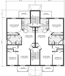 House Plans For Two Families Strikingly Ideas 5 Economical Family House Plans Multifamily