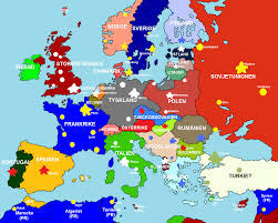 map of euorpe map of europe major tourist attractions maps