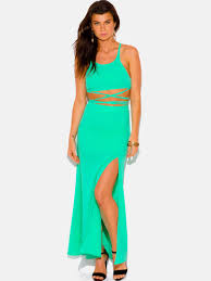 two piece maxi dress modishonline com