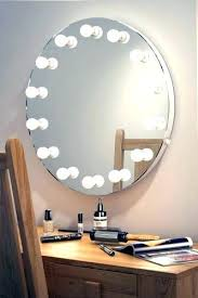 round makeup mirror with lights makeup mirror with led lights diy antique brass light mirrors 8