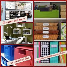 How To Organize Your Desk At Home For School Creative Ways To Organize Your Home Office Janetmtaylor