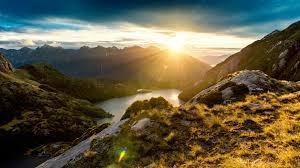 fiordland landscapes nature zealand walldevil