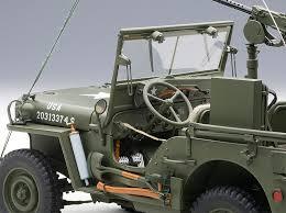 jeep willys 1943 die cast model autoart 74016