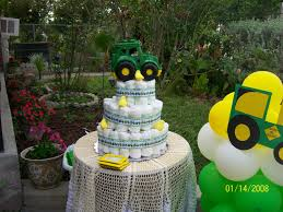deere ribbon deere baby shower cake tractor ribbon found at