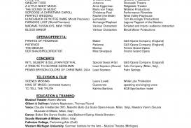musical theatre resume exles theatre resume best solutions of exles fantastic sle musical