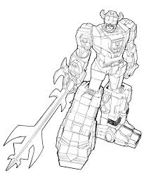 voltron coloring pages funycoloring