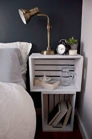 the 25 best crate nightstand ideas on pinterest nightstand