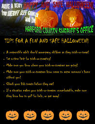 halloween safety tips harford county sheriff u0027s office