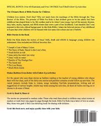 amazon com bible for kids a collection of bible stories for