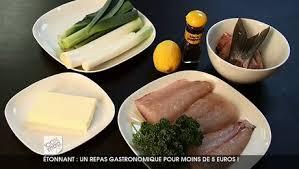 recette cuisine gastronomique repas gastronomique pour moins de 5 euros minutefacile com