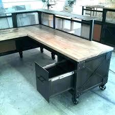 Organizer Desk L Wooden L Desk Gaming Vintage Shaped Organizer