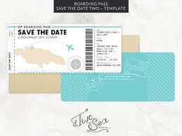 save the date in boarding pass save the date template invitation templates