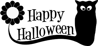 happy halloween clip art black and white clipart halloween h 1