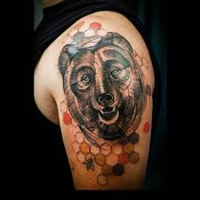 113 best bear tattoos images on pinterest bear traditional