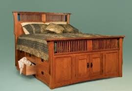King Size Bed Frame With Storage Drawers Captains Bed With Storage Drawers Foter