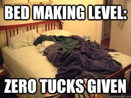 Bed Meme - messy bed memes quickmeme