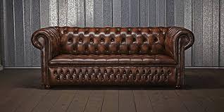 canapé anglais cuir la légende du canapé chesterfield terre meuble